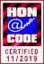 Diese Website ist bei der Health On the Net Foundation akkreditiert. Wir berücksichtigen HONcode Standards. Zur Überprüfung klicken Sie bitte auf das HON-Logo.