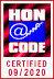 Nosotros subscribimos Los Principios del codigo HONcode de la Fundacion Salud en la Red